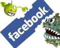 Virus de Facebook Ramnit gusano Ramnit Facebook