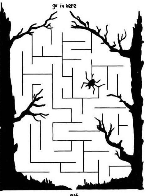 maze lock in