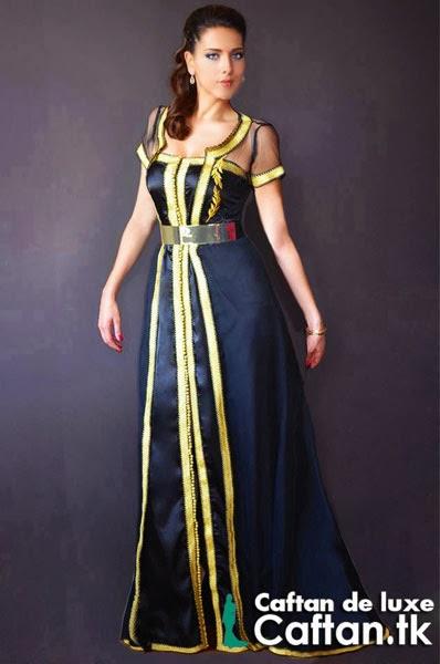 Caftan haute couture | robe de soirée 2014