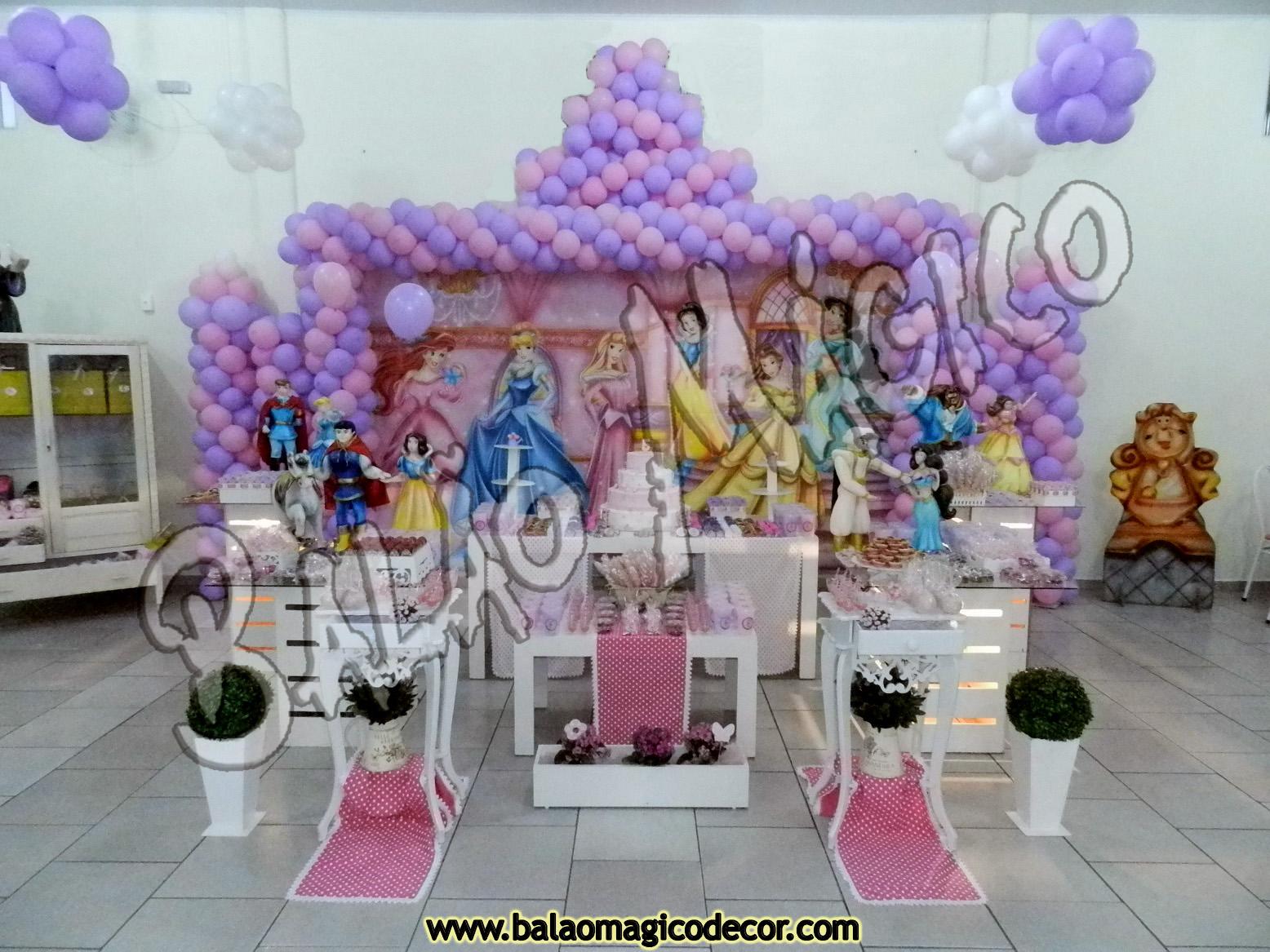 Agora n s somos festeirah decor princesas proven al for Agora decoration