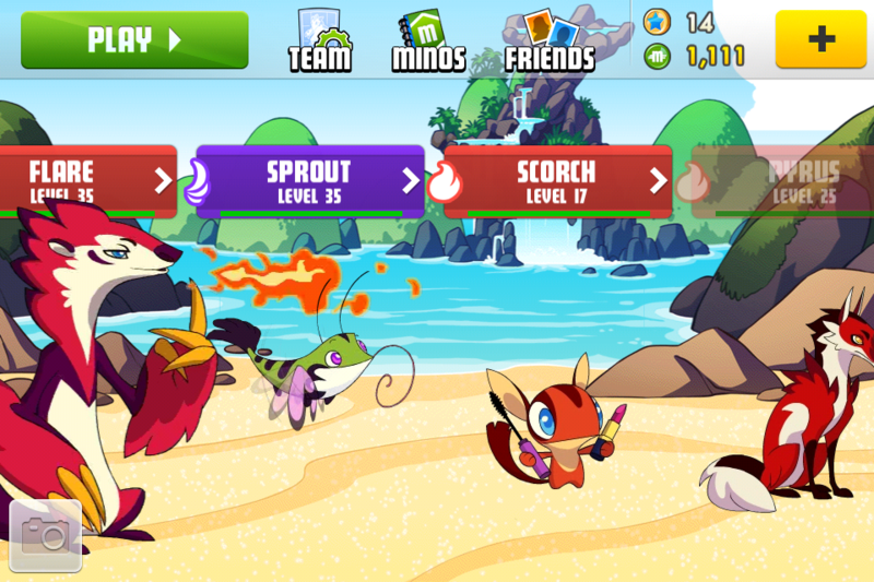 MinoMonsters v3.2 Full Hack iPA iPhone Apps  Ours iPA