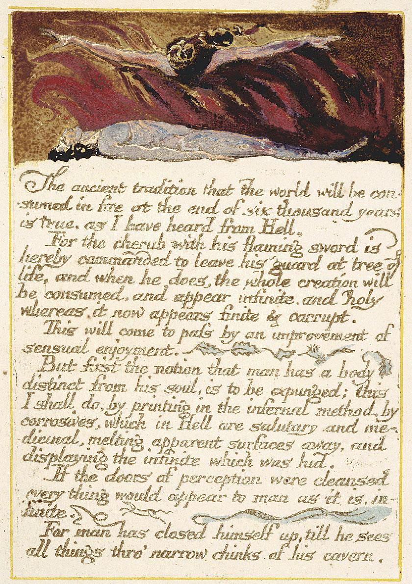 Cennet ve Cehennemin Evliliği   William Blake