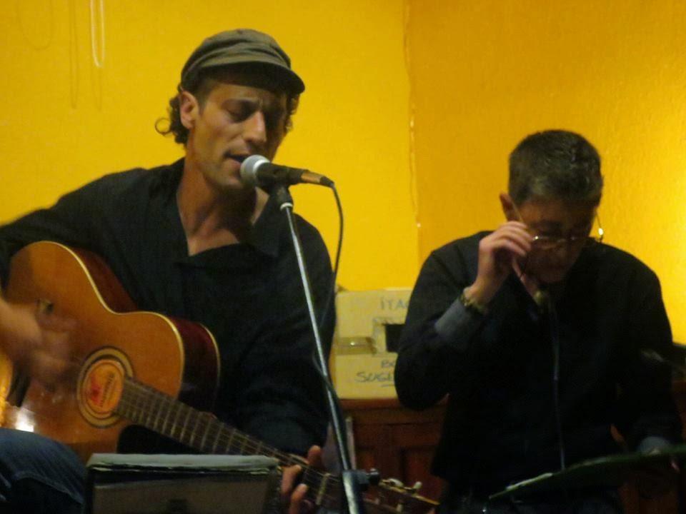 Con Helios Ruiz León