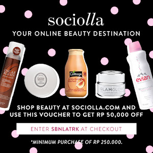 Voucher 50k at Sociolla