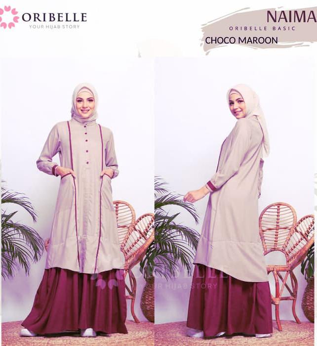 Dress Remaja Muslimah Katun