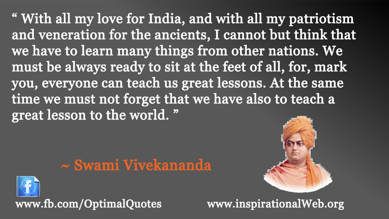 Swami Vivekananda Quotes (Author of Complete Works of