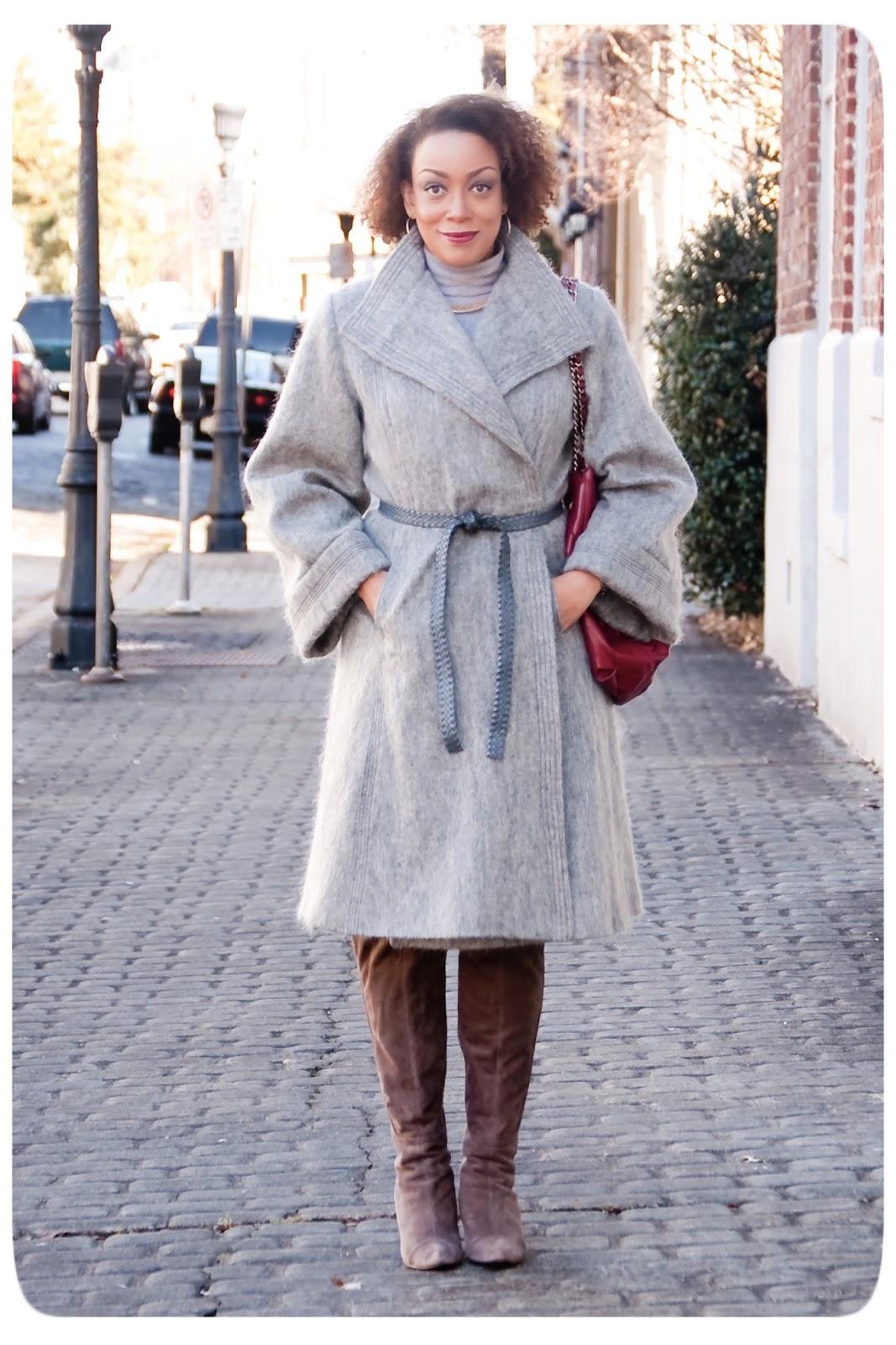 Vintage Vogue 1023 - Vogue Paris Original: 1970s Christian Dior Coat. Mohair Fabric from Mood Fabrics - Erica Bs DIY Style!