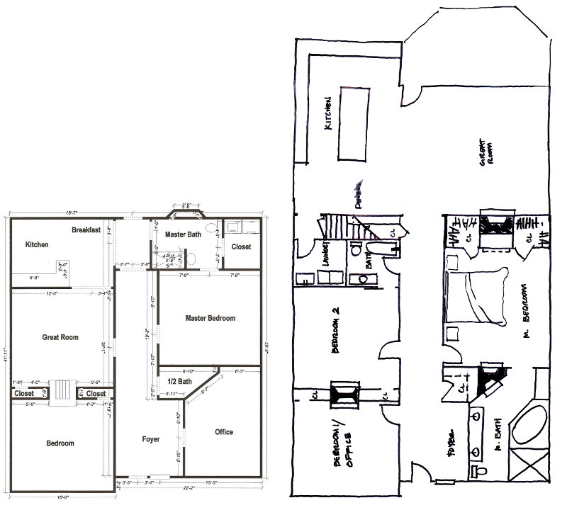 My old atlanta home january 2012 for Lrk house plans