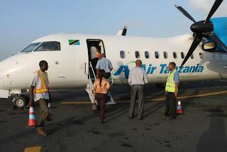 Air Tanzania Dar es Salaam - Mtwara début flight