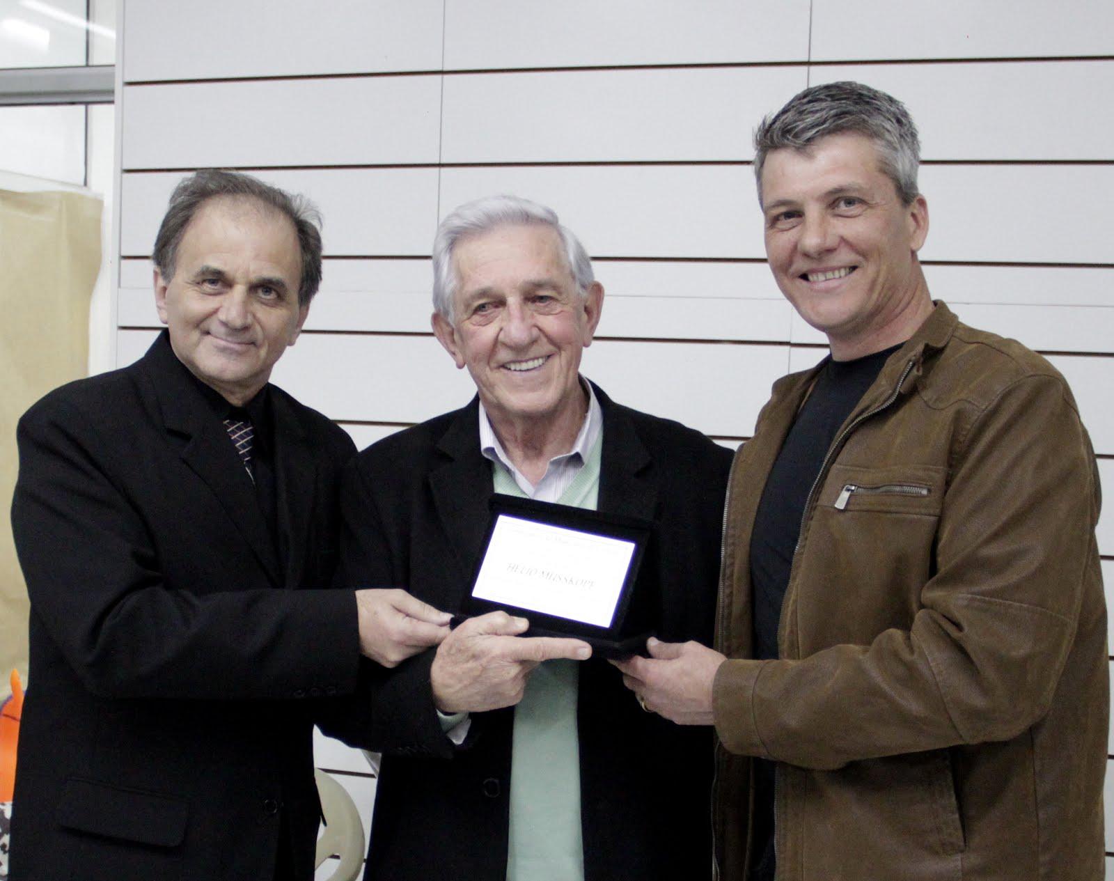 Airton Engster dos Santos, Hélio Musskopf e Marcelo Braun