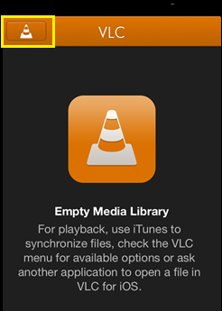 how to open video on phone with vlc