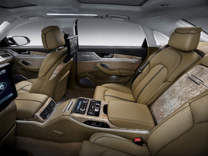 Technology Meets Luxury In The Audi A8