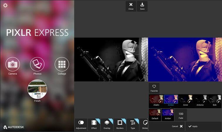 Aplikasi penggabung foto terbaik untuk android