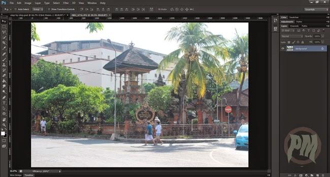Tutorial Photoshop Cara Membuka Foto dengan Photoshop