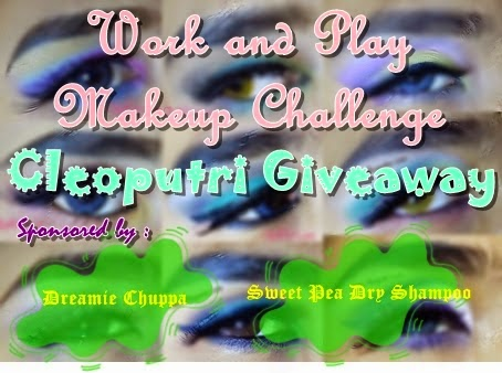Work and Play Makeup Challenge Cleoputri Giveaway