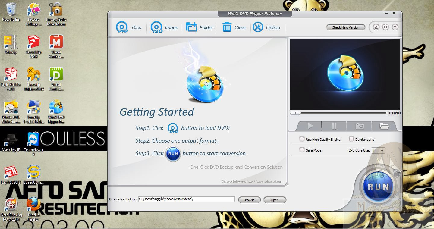 how to use winx dvd ripper platinum