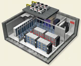 Máy lạnh chính xác dùng cho phòng sever , data center