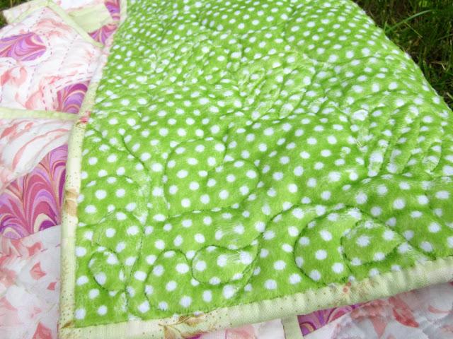 лоскутное одеяло, кукольное одеялко