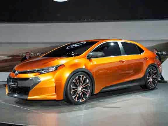 2015 Toyota Corolla Redesign