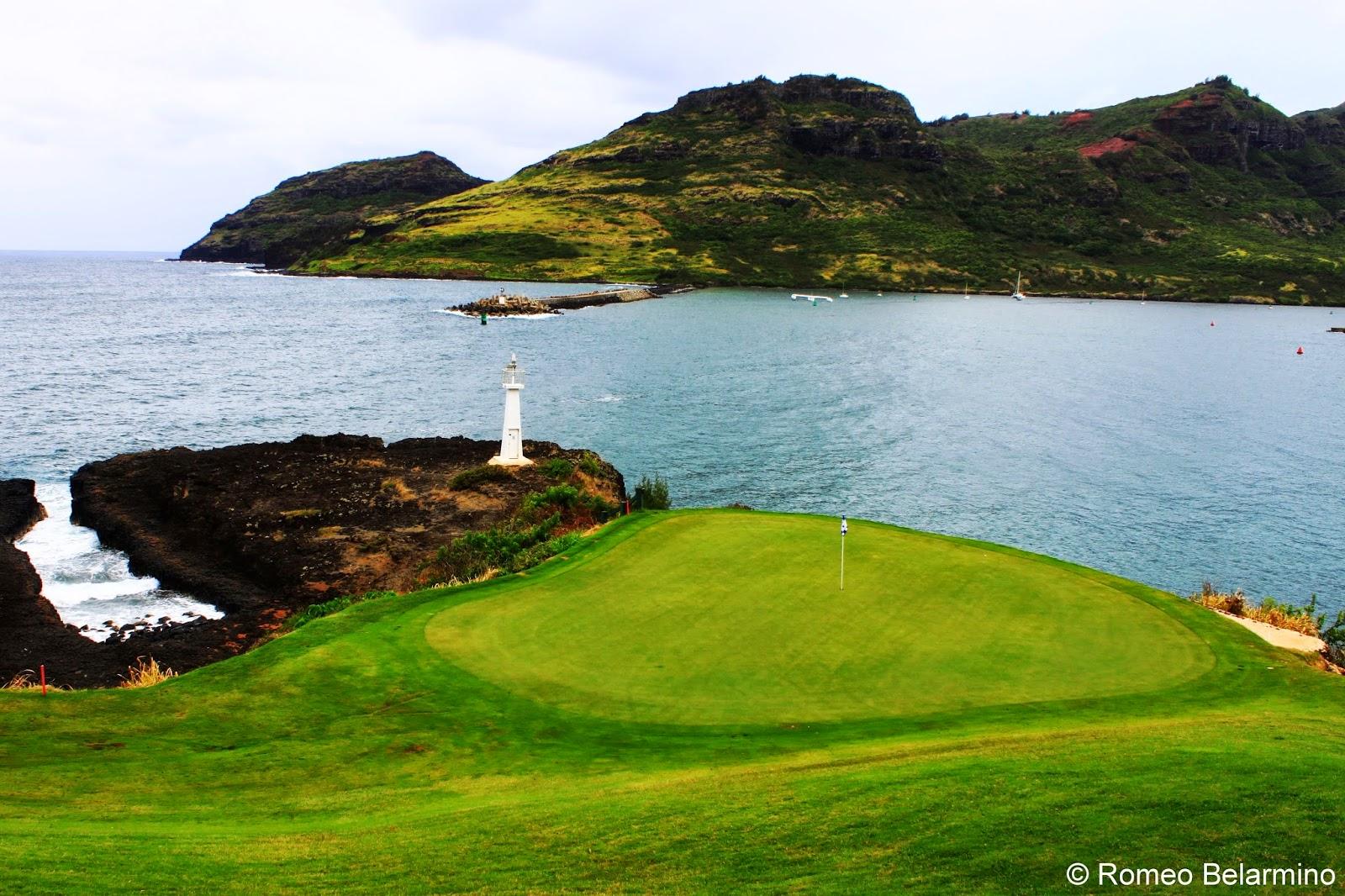 Kiele Moana Hole 7 Kauai Lagoons Golf Club Hawaii