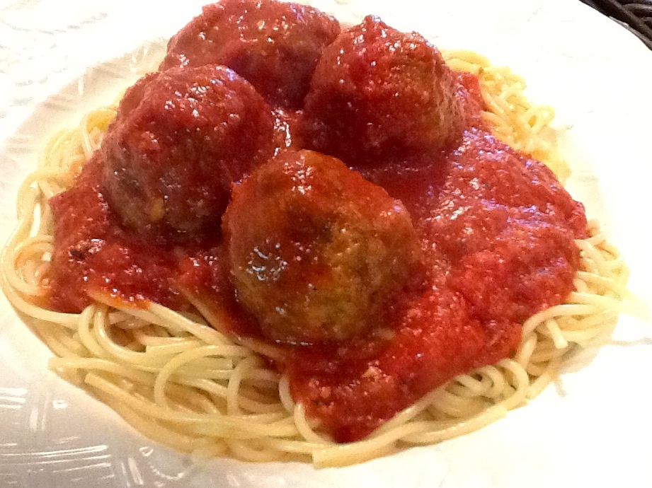 Kitty's Kozy Kitchen: Spaghetti and Meatballs