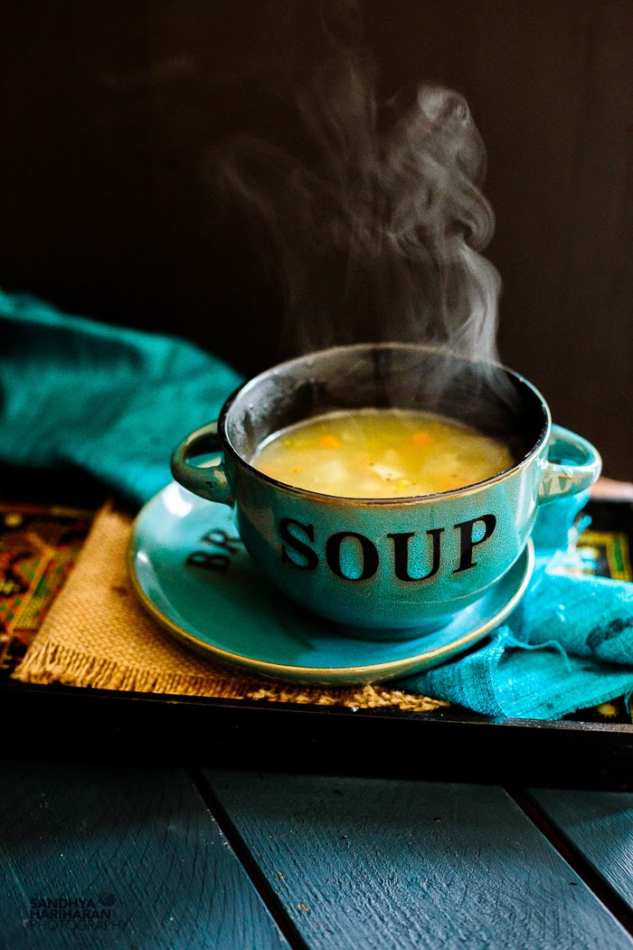 Mixed Vegetable Clear Soup #newpost #foodphotography #soup #newcoventgardensoup