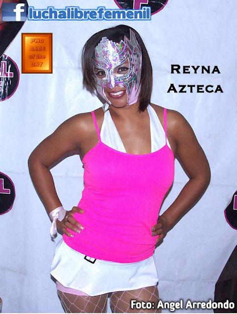 Reyna Azteca - Mexican Female Luchadora