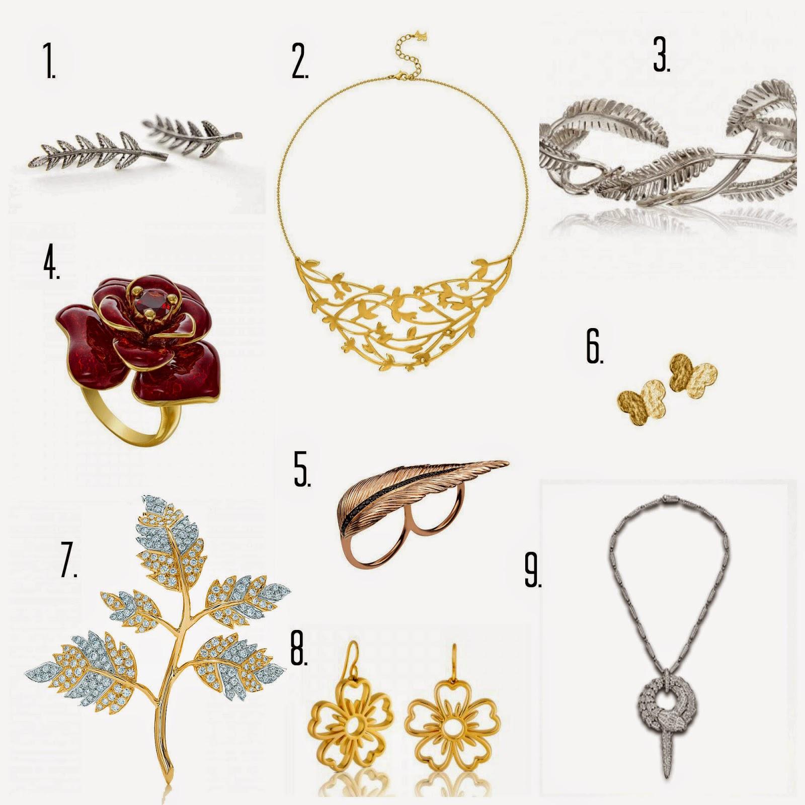 Esencia Trendy pasarela otoño invierno 2014 2015 joyas collares detalles flores complementos jewels luxe Asesoria de Imagen Personal Shopper