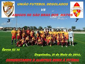 UNIÃO FUTEBOL DEGOLADOS - 3 «AMIGOS DE SÃO BRÁS DOS MATOS» - 7