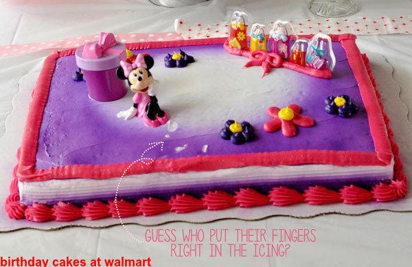 Birthday Cakes At Walmart