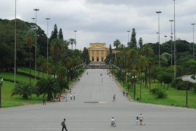 Museu do Ipiranga um dos mais famosos de São Paulo