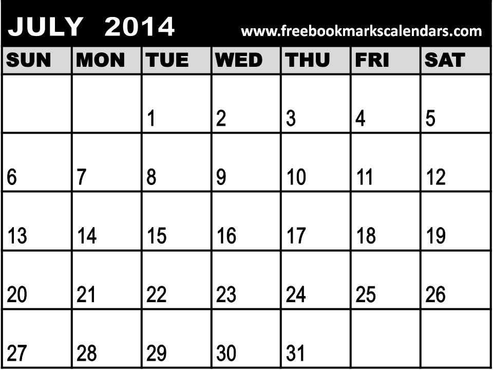 ... Blank Printable July 2013 Calendar/page/2 | New Calendar Template Site