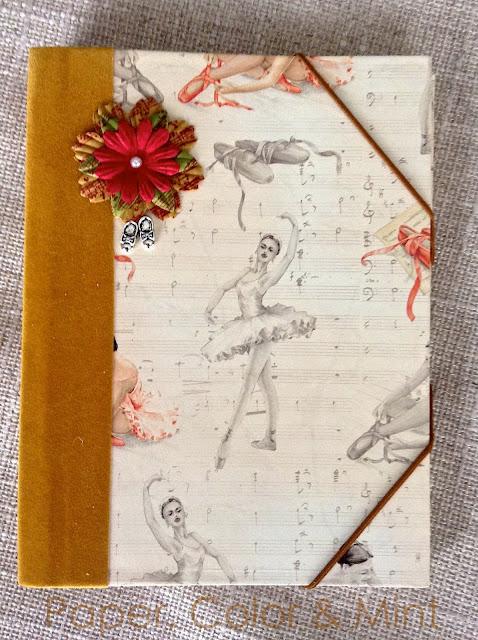 Encuadernación y cartonaje Bailarinas 3