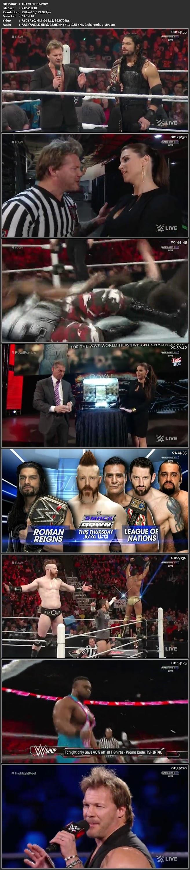 Screen Shot WWE Monday Night Raw 18th January 2016 HDTV 480P 400MB