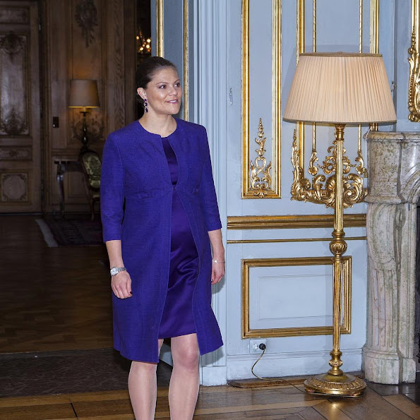 Crown Princess Victoria of Sweden met with the President of Afghanistan, Ashraf Ghani Ahmadzai. The meeting was held at the Royal Palace