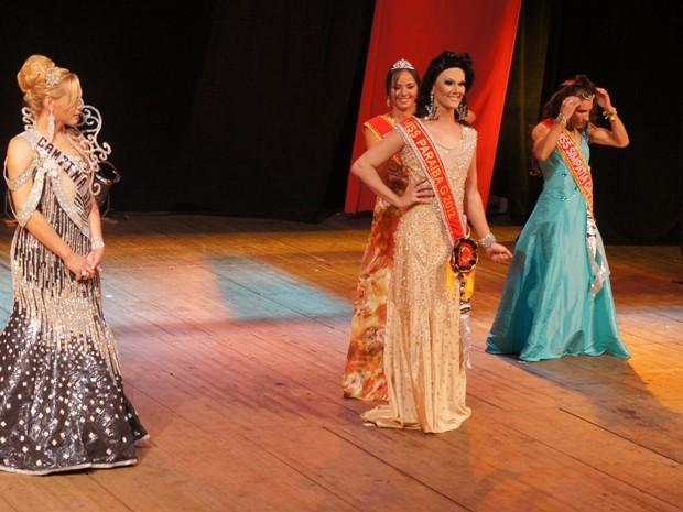 Rayssa Rodrigues foi eleita a Miss Paraíba Gay 2012 (Foto: Krystine Carneiro)