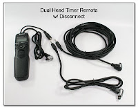 Dual Head Timer Remote w/ Disconnect