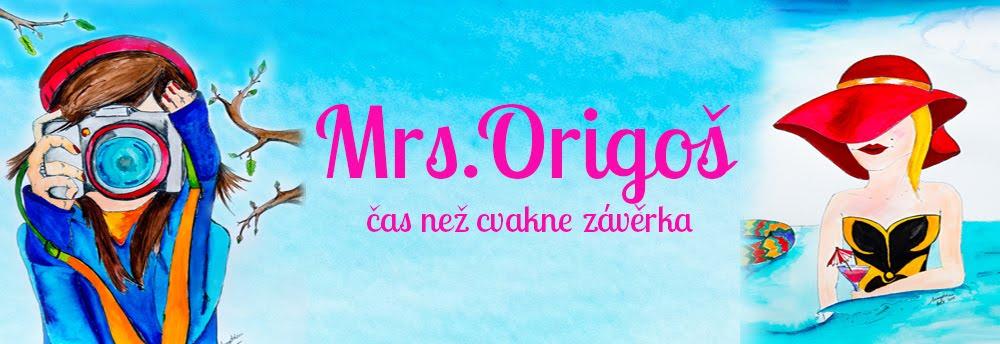 Mrs. Origoš - čas než cvakne závěrka