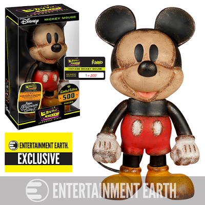 "Entertainment Earth Exclusive Disney ""Vintage"" Mickey Mouse Hikari Sofubi Vinyl Figure by Funko"
