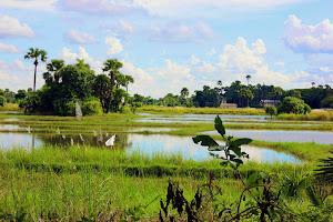 Paisaje de Inwa Myanmar
