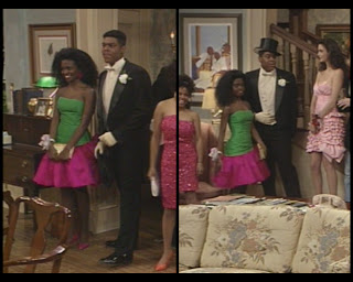The Cosby Show Huxtable fashion blog Troy Winbush Denny tuxedo prom