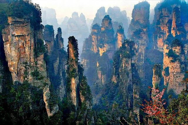 zhangjiajie menakjubkan