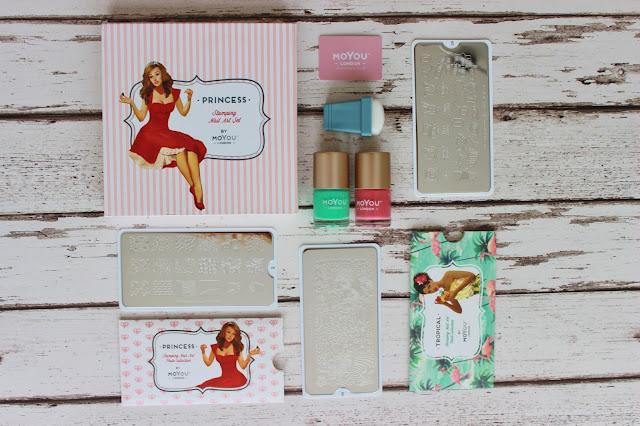 MoYou nail stamping kit
