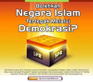PILIHAN RAYA: BEZA ANTARA ISLAM DAN DEMOKRASI