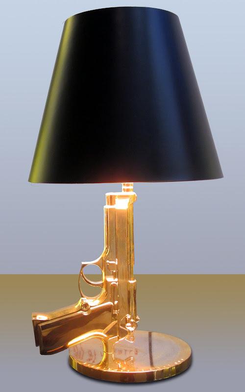 Philippe Starck: Bedside Gun Lamp
