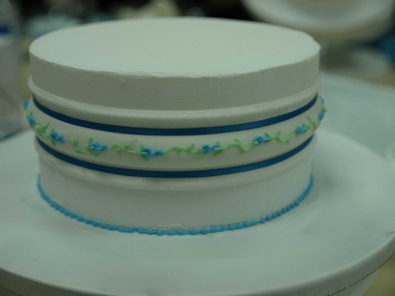 how to use acetate cake collars