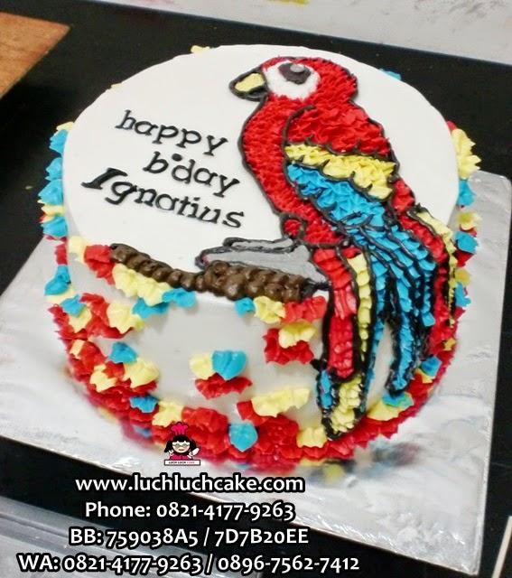 kue tart burung daerah surabaya - sidoarjo