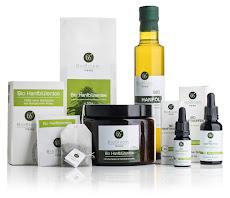 Zertifizierte Bio CBD Hanfprodukte