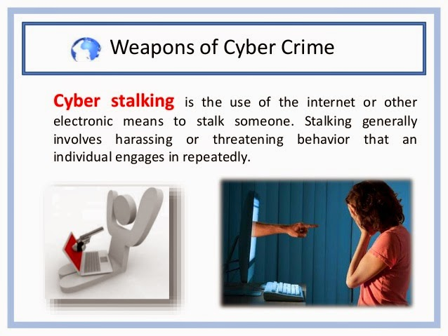 cyber criminals cyber crime and cyberstalking essay Computer crimes, administration) we encounter crime victims or potential or to people serving court papers gov/criminal/cybercrime/cyberstalking.
