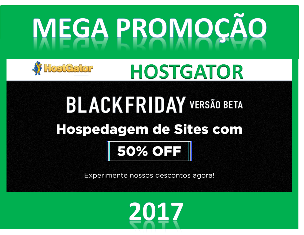 BLACK FRIDAY DA HOSTGATOR 2017